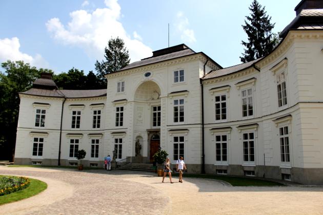 Pałac Myślewicki Szukając Napoleona