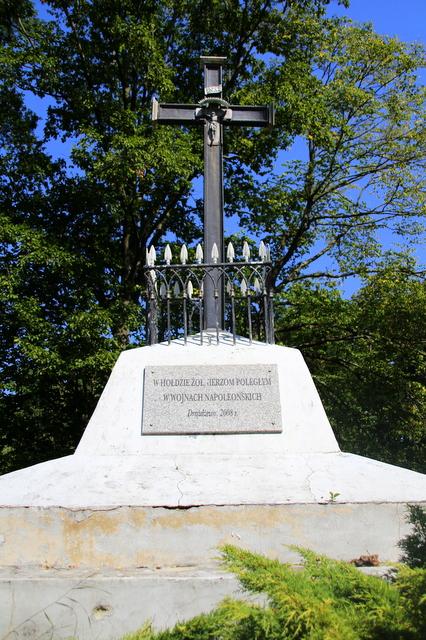 Krzyż na mogile w Drążdżewie