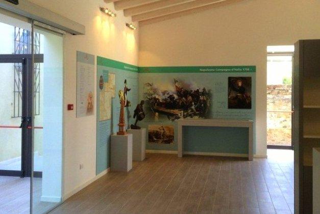 Wystawa w Muzeum Napoleońskim w Arcole