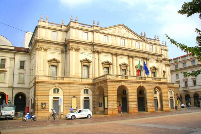 Mediolański teatr La Scala