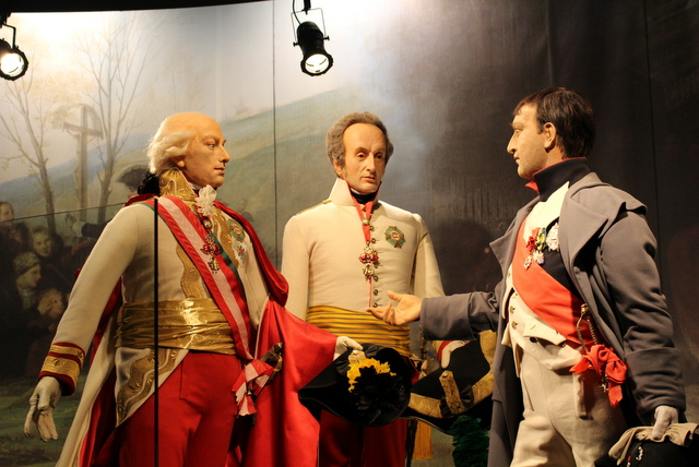 Franciszek, Aleksander I i Napoleon I