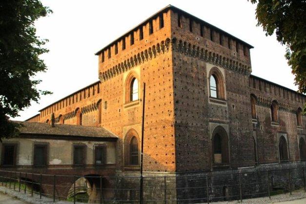 Zamek w Mediolanie