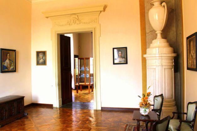 Pokój Napoleona na zamku Austerlitz