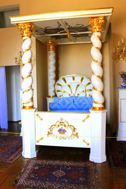 Napoleon nie spał w tym łóżku